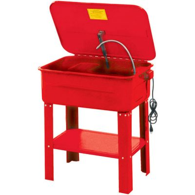 eurolift 20 gallon parts washer self standing diesel electric