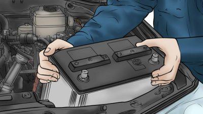 diesel-electric-car=battery-change