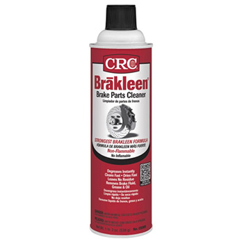 crc brakes parts cleaner remove grease diesel electric