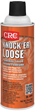 crc knocker loose penetrating oil solvent diesel electric