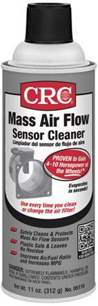 crc mass air flow sensor cleaner diesel electric