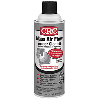 crc mass air flow sensor cleaner diesel electric