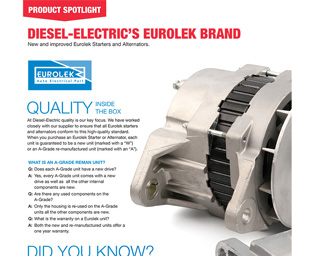 eurolek brand promotion diesel electric