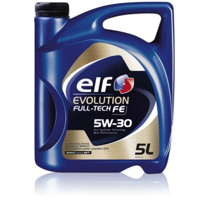 elf evolution full tech fe 5w 30 synthetic oil diesel electric