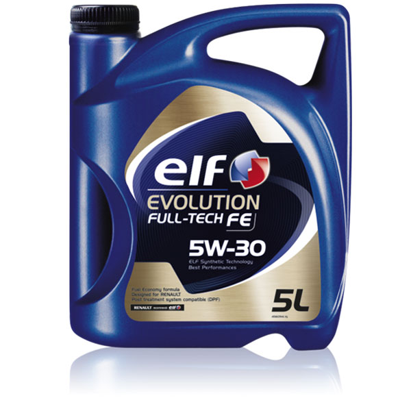 elf evolution full tech fe 5w 30 synthetic oil diesel electric