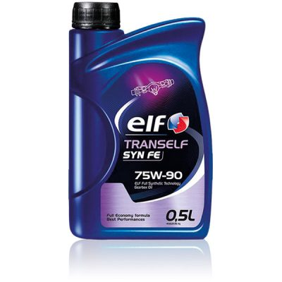 elf tranself syn fe 75w 90 gearbox oil diesel electric